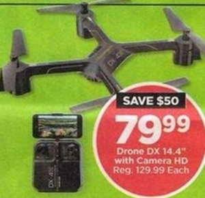 Drone DX with HD Camera