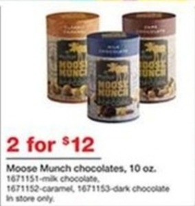 Moose Munch Chocolates