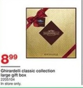 Ghirardelli Classic Collection Large Gift Box