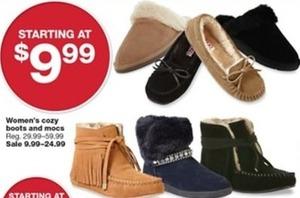 Women's Cozy Boots & Mocs