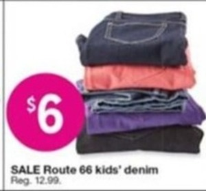 Route 66 Kids' Denim