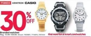 Times, Armitron, Casino Watches