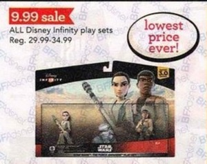 All Disney Infinity Play Sets