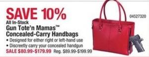 Gun Tote'n Mamas Concealed-Carry Handbags