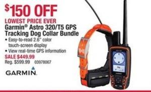 Garmin Astro 320/T5 GPS Tracking Dog Collar Bundle