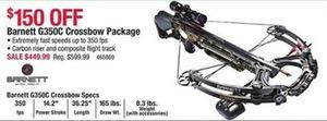 Barnett G350C Crossbow Package
