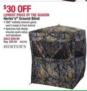 Hester's Ground Blind