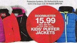 Kids' Puffer Jackets