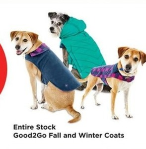 Entire Stock of Good2Go Fall & Winter Coats