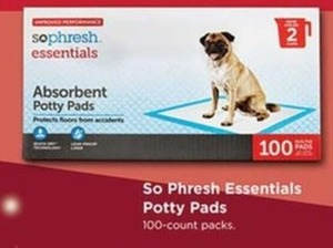 So Phresh Essentials Potty Pads