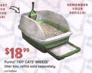 Purina Tidy Cats Breeze Litter Box
