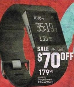 Surge Smart Fitness Watch