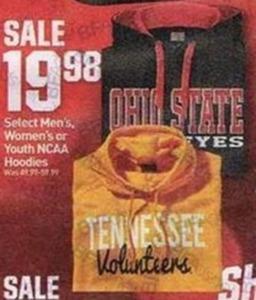 Select NCAA Hoodies