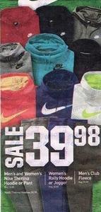 Men's and Women's Nike Therma Hoodie or Pant
