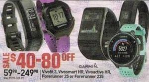 Select Garmin Watches