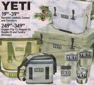 Assorted Yeti Products