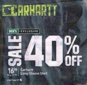 Carhartt Men's Long-Sleeve Shirt