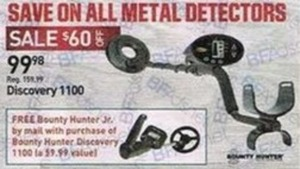Discovery 1100 Metal Detectors