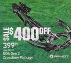 Barnett DGA Gen 2 Crossbow Package