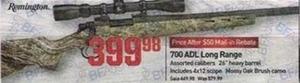700 ADL Long Range Rifle After Rebate