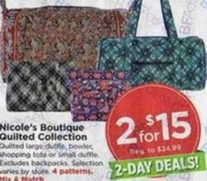 Nicole's Boutique Quilted Collection
