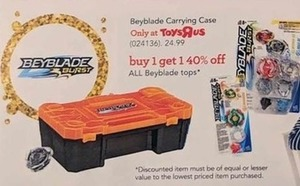 Beyblade Carrying Case