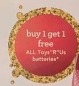 All Toys R Us Batteries