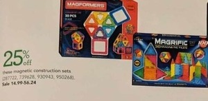 Select Magnetic Construction Sets