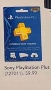 Sony Playstation Plus