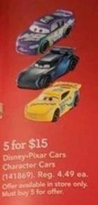 Disney-Pixar Cars Character Cars