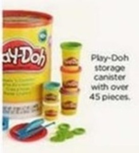 Play-Doh Storage Canister
