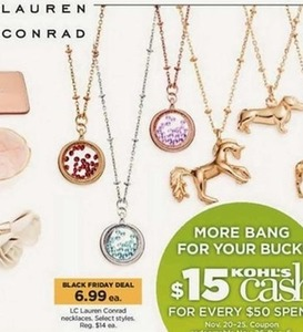 LC Lauren Conrad Necklaces