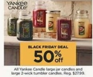 All Yankee Candle Large Jar & 2 Wick Tumbler Candles