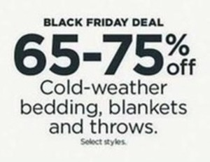 Select Cold-Weather Bedding, Blankets, and Throws