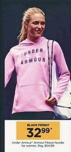 Women's Under Armour Fleece Hoodie