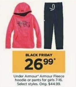 Under Armour Armour Fleece Hoodie or Pants for Girls