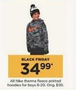 All Nike Therma Fleece Printed Hoodies for Boys