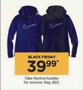 Nike Therma Hoodie for Women