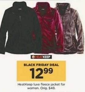 Women's HeatKeep Luxe Fleece Jacket
