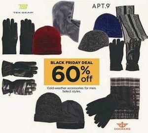 Men's Select Cold Weather Accessories