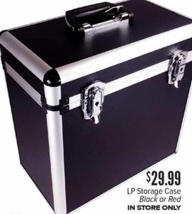 LP Storage Case Black or Red In-Store Only