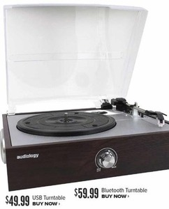 Audiology Bluetooth Turntable