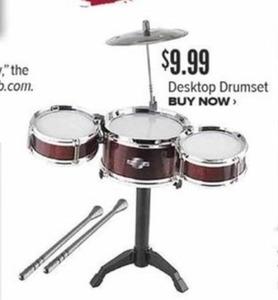 Desktop Drumset