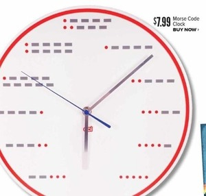 More Code Clock
