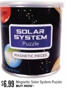 Magnetic Solar System Puzzle
