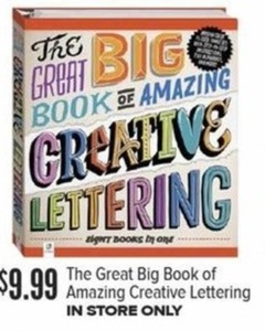 The Big Great Book of Amazing Creative Lettering