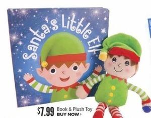 Sana's Little Elf Book & Plush