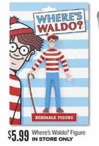 Where's Waldo? Figure