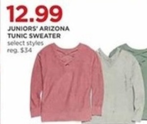Juniors' Arizona Tunic Sweaters