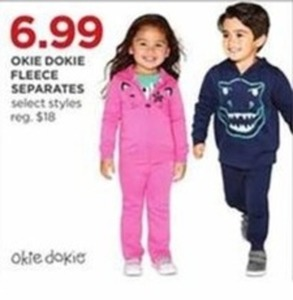 Kids' Okie Dokie Fleece Separates